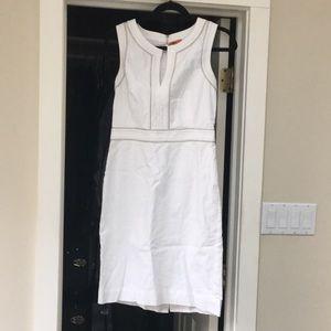 White Tory Burch dress